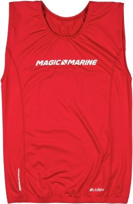 Magic Marine Brand Overtop ohne Ärmel Rot