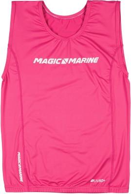 Magic Marine Brand Overtop ohne Ärmel Pink