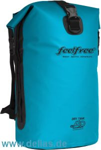 feelfree®GEAR wasserdichter Rucksack DRY TANK 60L Sky Blue