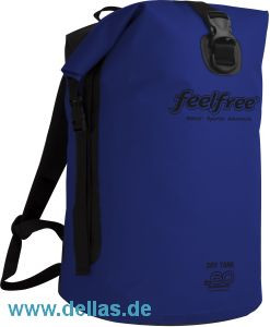 feelfree®GEAR wasserdichter Rucksack DRY TANK 60L Navy