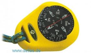RIVIERA Kompass Mizar m. Gummiarmierung, Gelb