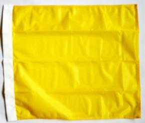 Flagge Gelb (uni gelb)