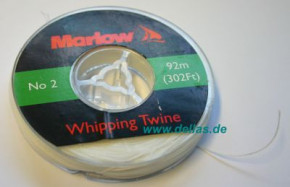 Marlow Takelgarn 0,5 mm Weiß