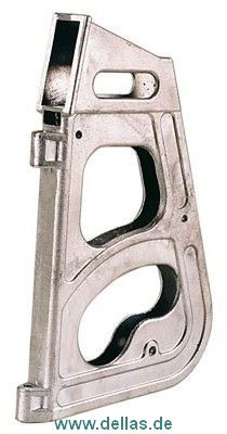 Ruderkopf für 420er aus gegossnenem Aluminium