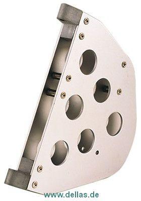 Ruderkopf für 470er aus Aluminium