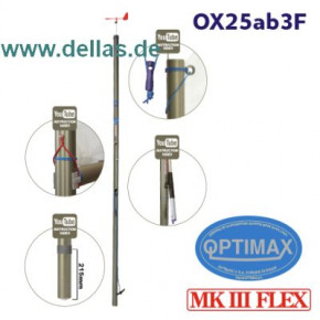 OPTIMAX MK3 FLEX Racing Mast komplett