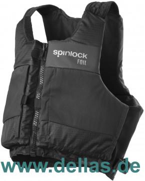 Spinlock PFD Foil Regattaschwimmweste Schwarz L