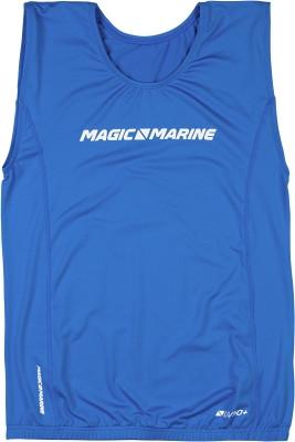 Magic Marine Brand Overtop ohne Ärmel Blau