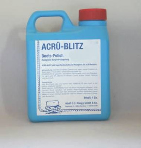ACRÜ-Blitz, Bootspolish 1000 ml