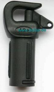 AG+ Spibaumbeschlag für 25 mm Rohr
