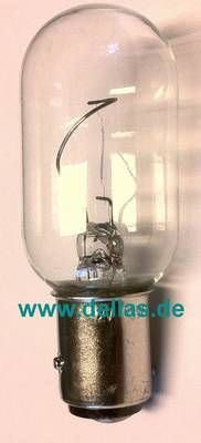 Leuchtmittel für Navigationslaternen BAY15d 12V 10 Watt