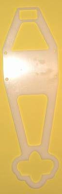 Kompass Deckshalterung f. neue Streckerführung
