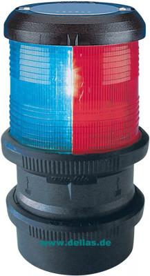 Kombilaterne Dreifarbenlaterne - Tricolor mit Quicfits, 12 Volt