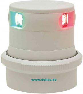 Aqua Signal LED Tri-Colorlaterne Serie 34 mit Quikfits Befestigung schwarz oder weiß