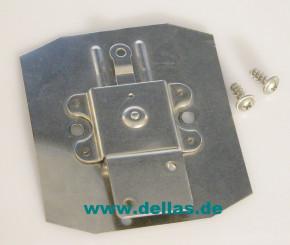 Adapterplatte zur Umrüstung von Serie 40 auf Serie 43