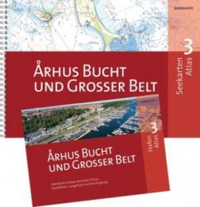 Århus Bucht und Grosser Belt SEEKARTEN ATLAS 3