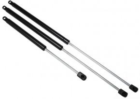 Gasdruckfedern aus poliertem rostfreiem Stahl mit Kupplungsknauf