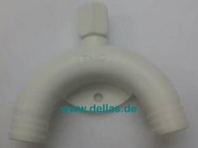 Polypropylensiphon für WC 19 mm 3/4Zoll Zulauf