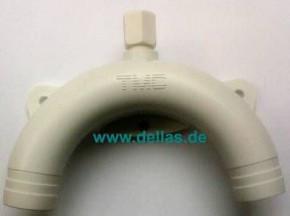 Polypropylensiphon für WC 25 mm 1Zoll Ablauf elektr. WC