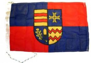 Flagge Ammerland mit Wappen