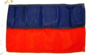 Flagge Farben Oldenburg Land Blau/Rot