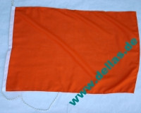 Flagge Startschiff (uni orange)