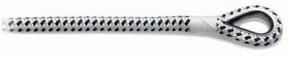 Festmacher-/Ankerleine Rio mit Nirosta-Kausche 10 - 14 mm