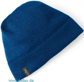Gill Knit Fleece Hat – Fleece Mütze in Strick-Optik Blau