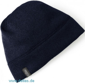 Gill Knit Fleece Hat – Fleece Mütze in Strick-Optik Navy