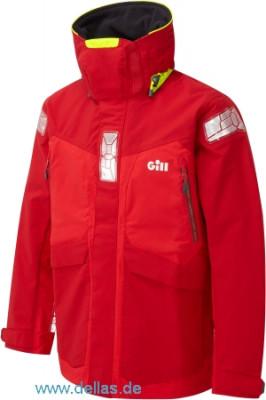 Gill OS2 Offshore Men's Jacket - Herren Offshore Jacke XS / Rot