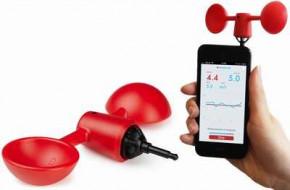 Windmesser für Smartphone