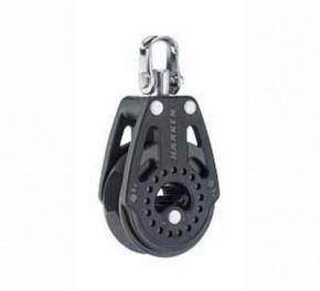 40 mm Carbo-Ratchet Knarrblock, einfach mit Wirbel