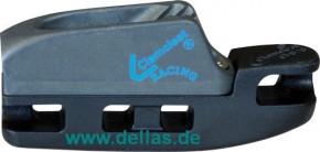 Clamcleat® Aerocleat mit CL268 - Harteloxiert - 3 - 4 mm
