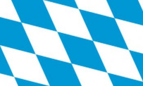 Flagge Bayern Rauten ohne Wappen
