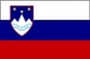 Nationalflagge Slowenien