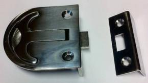 Einlassgriff mit Feder 62 x 58 mm AISI316