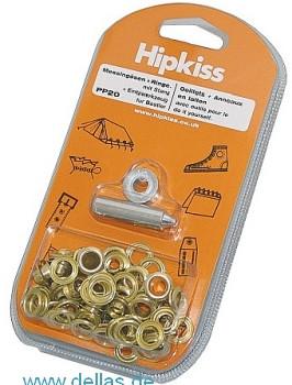 Hipkiss SB-Packungen - Ösen mit Scheiben