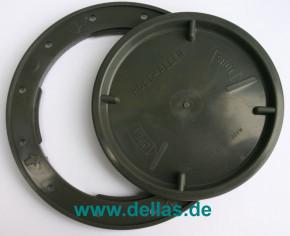 Allen Inspektionsdeckel A137 99 mm Anthrazite