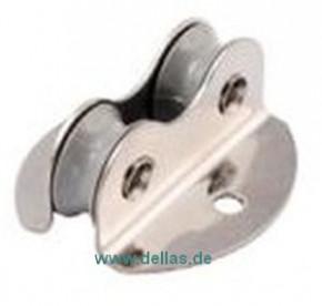 Einlass-Doppelblock Allen für Tau-Ø 2 - 5 mm