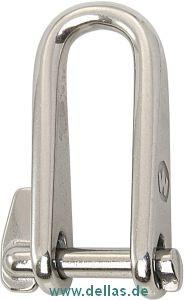 Wichard Schlüsselschäkel ohne Steg 5 mm