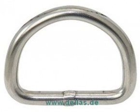 Edelstahl-D-Ringe