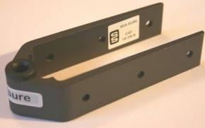 SeaSure Aluminium Ruderbeschlag mit Carbon 8 mm Loch
