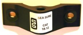 SeaSure Aluminium Spiegelbeschlag loch 8 mm