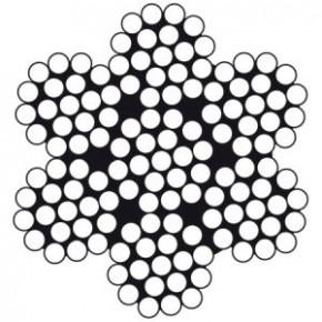 Edelstahldraht 7 x 19 flexibel für laufendes Gut 2,5 mm