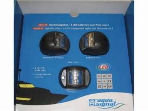 Aqua Signal LED Set Back-/Steuerbord und Hecklaterne Serie 32