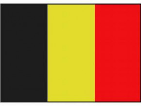 Nationalflagge Belgien