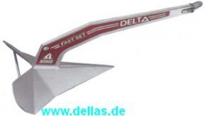 LEWMAR Delta Anker, Stahl verzinkt, Lloyd's Register