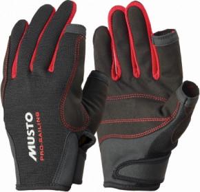 Segelhandschuhe MUSTO Essential Sailing Gloves Schwarz 2 Fi. geschn. XS