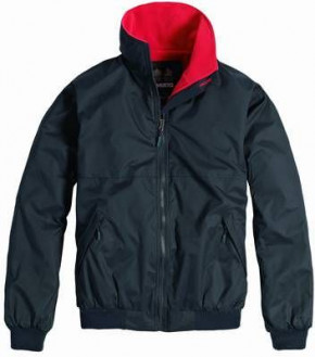 MUSTO SNUG BLOUSON Jacket Navy/Red