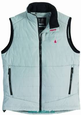 Musto Weste LIGHT GILET CLEAR GREY